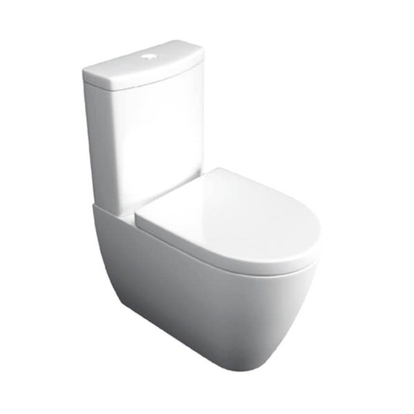 Kartell Genoa Close Coupled WC Pan With Cistern And Seat