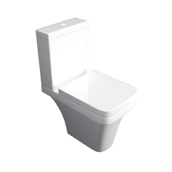 Kartell Sicily Close Coupled WC Pan With Cistern And Seat