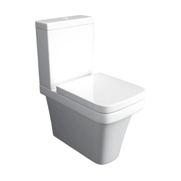 Kartell Sicily Close To Wall Close Coupled WC Pan With Cistern And Seat