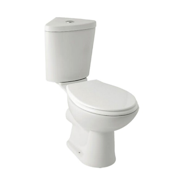 Kartell G4K Close Coupled WC With Corner Cistern And Seat