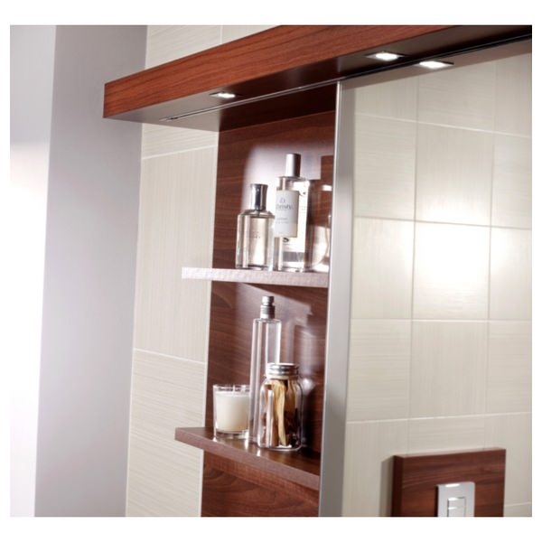 Alternate image of Utopia 1200mm Sliding Mirror Cabinet