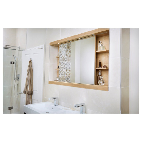 Additional image of Utopia 1600mm Sliding Mirror Cabinet