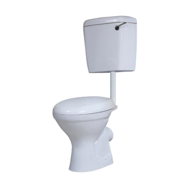 Kartell Alpha Low Level Toilet With Side Feed Cistern