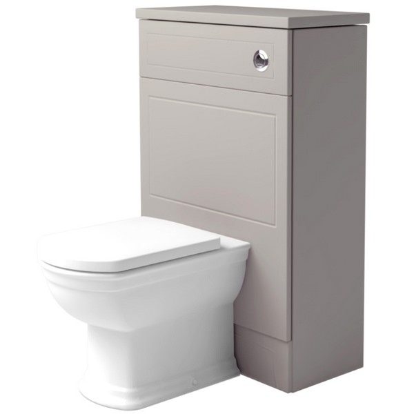 Noble Classic Earl Grey 550mm Back To Wall WC Unit