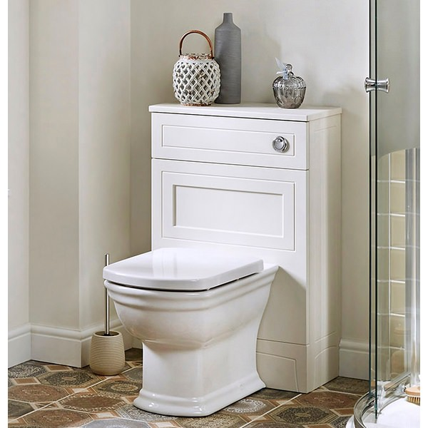 Alternate image of Noble Classic Ivory 550mm Back To Wall WC Unit