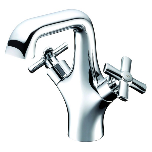 Utopia Savio Monobloc Basin Mixer Tap With Click Clack Waste