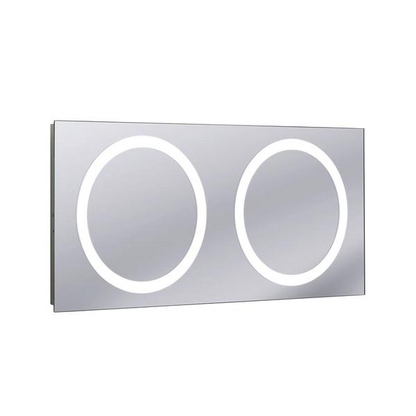 Bauhaus Edge 120 LED 1200mm Illuminated Mirror With Demister Pad
