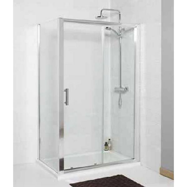Alternate image of Kartell Koncept 1600mm Sliding Shower Door