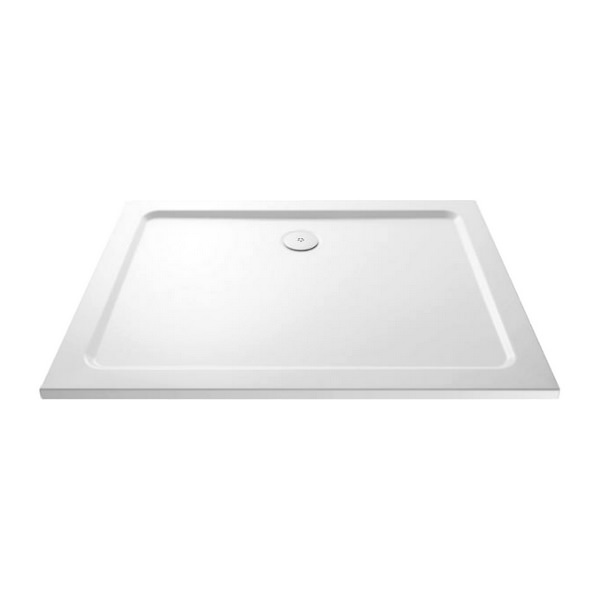 Kartell KT35 1000 x 800mm Rectangle Shower Tray With Waste