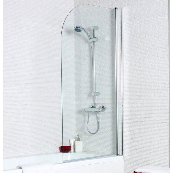 Kartell Koncept 780 x 1400mm Straight Bath Screen