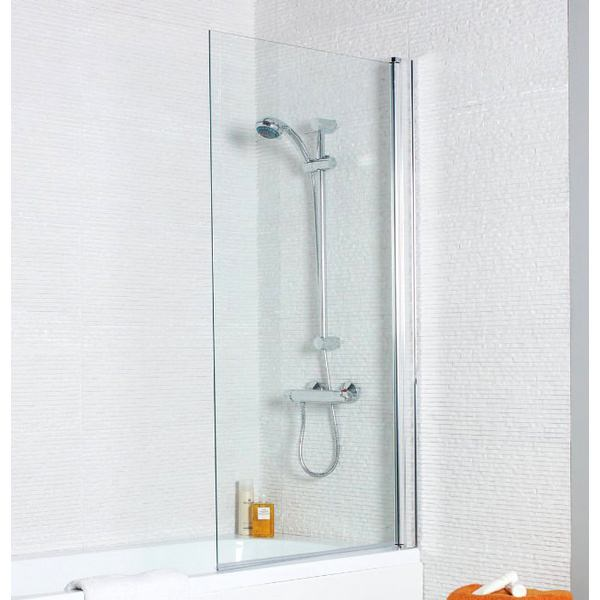 Kartell Koncept 720 x 1400mm Straight Bath Screen