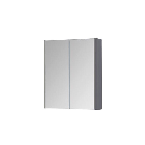 Kartell Options 600mm Basalt Grey Mirror Cabinet