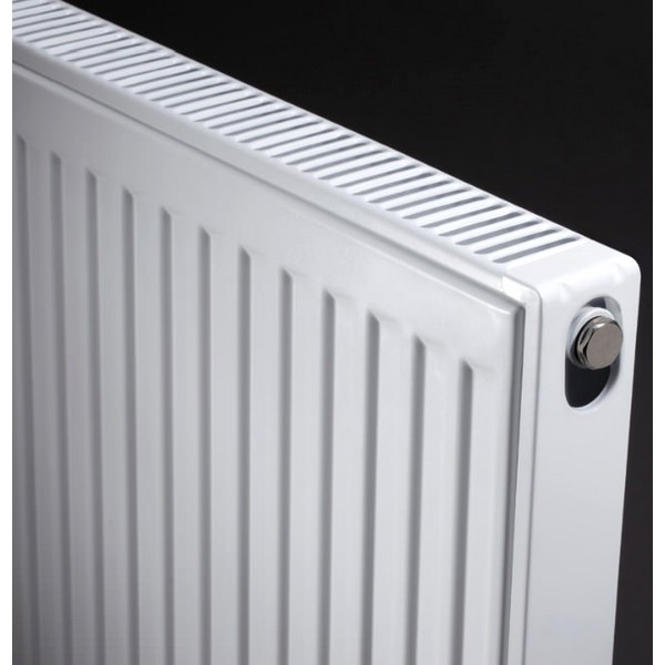 Alternate image of Kartell K-RAD Kompact Double Panel Single Convector Radiator 700 X 900mm