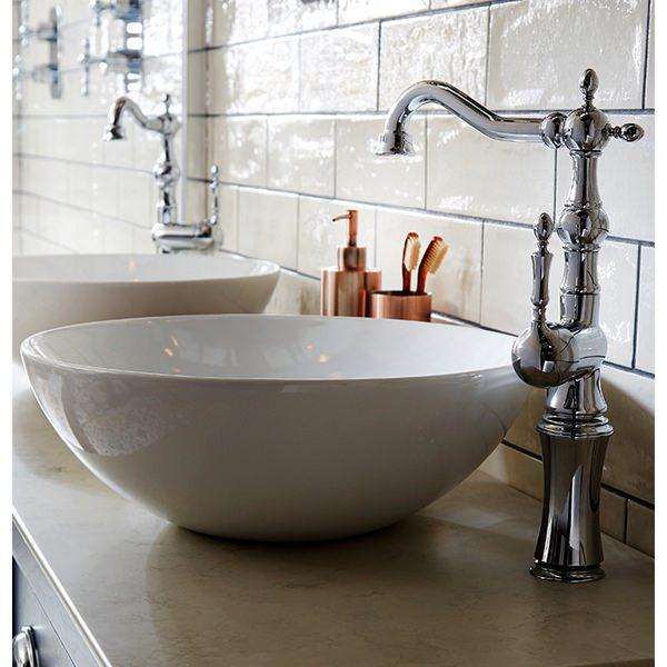 Additional image of Utopia Regent Tall Basin Monobloc Mixer Tap