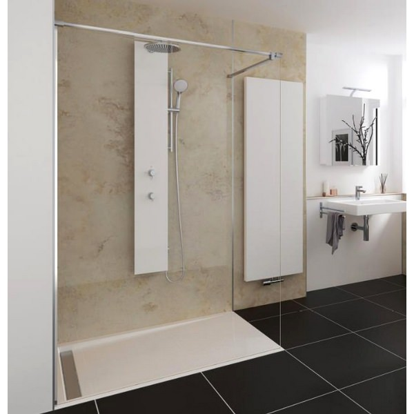HSK Walk In Pro Concept 1 Elements Shower Panel 1000 x 2000mm