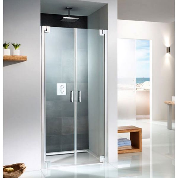 HSK K2P Saloon Shower Door For Recess 760mm