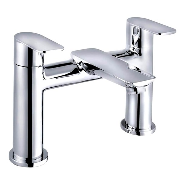 QX Charlotte 2 Hole Bath Filler Tap