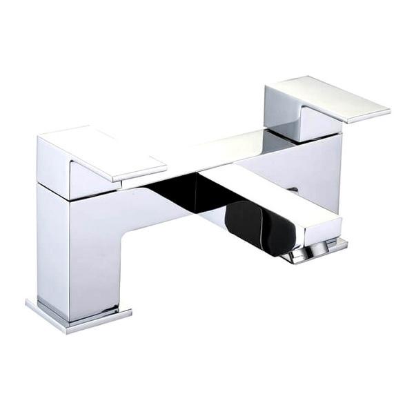 QX Grosvenor 2 Tap Hole Bath Filler Tap