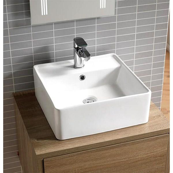 QX Aston 415 x 415mm Square Vanity Basin