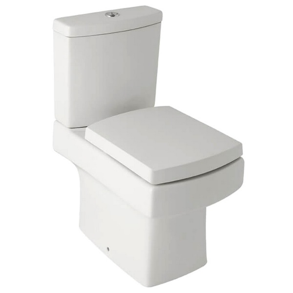 QX Montana Close Coupled Pan With Cistern And Soft Close Seat
