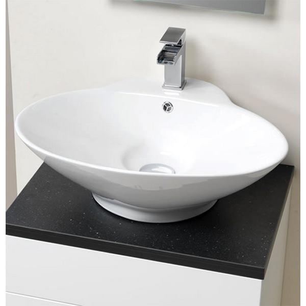 QX Oregon 620 x 500mm Ceramic Counter-Top Basin