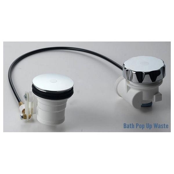 Alternate image of QX Colorado 1400 x 1400mm Corner Bath And Panel With Option 1 Whirlpool