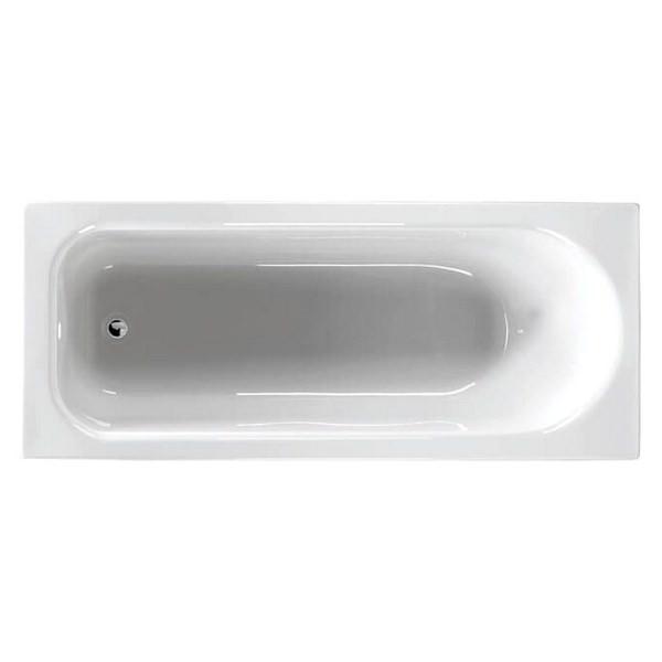 Alternate image of QX Ebony 1700 x 700mm Shower Bath With Option 5 Whirlpool System