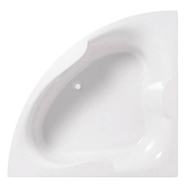 Alternate image of QX Michigan 1500 x 1500mm Superspec Corner Bath With Option 1 Whirlpool