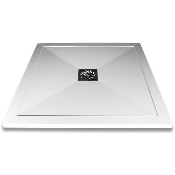 Frontline Aquaglass 25mm Slimline Square Shower Tray - More Dimensions Available