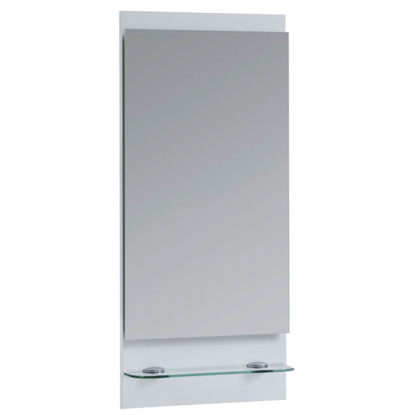 Frontline 400 x 900mm Bathroom Mirror With Shelf
