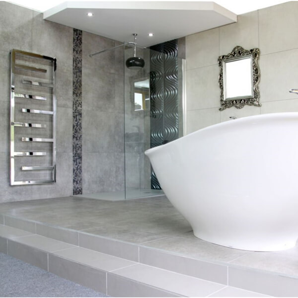 Additional image of Radox Aztec Stainless Steel Ladder Towel Rail - Height 915 - 1265 - 1615mm