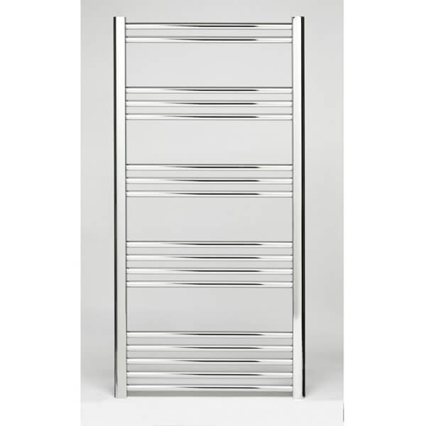 Additional image of Towelrads Hamilton 400mm Wide Curved Towel Rail - More Heights Available