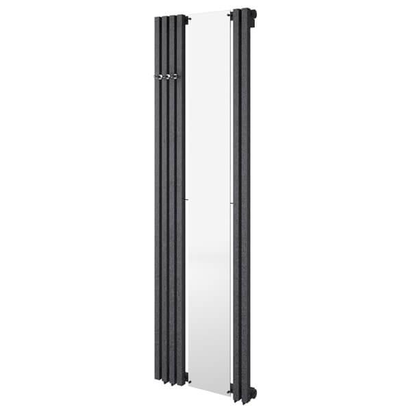 Radox Image D Vertical 535mm Width Radiator Texture White - Height 1500 - 1800mm