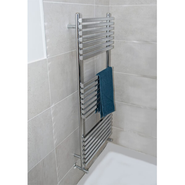 Towelrads Oxfordshire 500mm Wide Vertical Towel Rail - More Heights And Finish Available