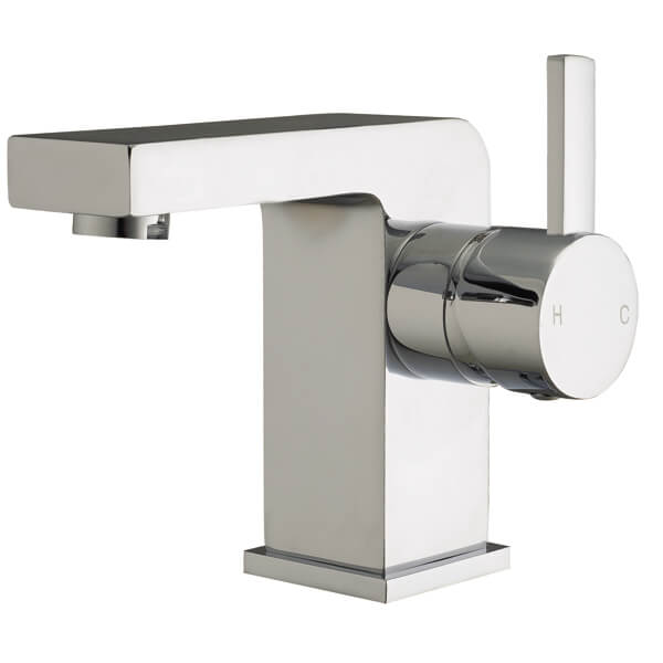 Frontline Pano Basin Mixer Tap With Click-Clack Waste