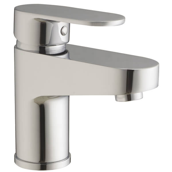 Frontline Sphere Basin Mixer Tap With Click Clack Waste