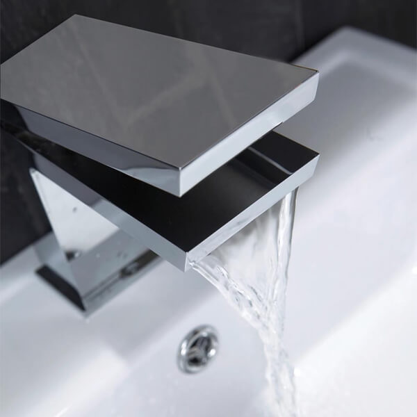 Additional image of Frontline Razor Tall Waterfall Basin Mixer Tap
