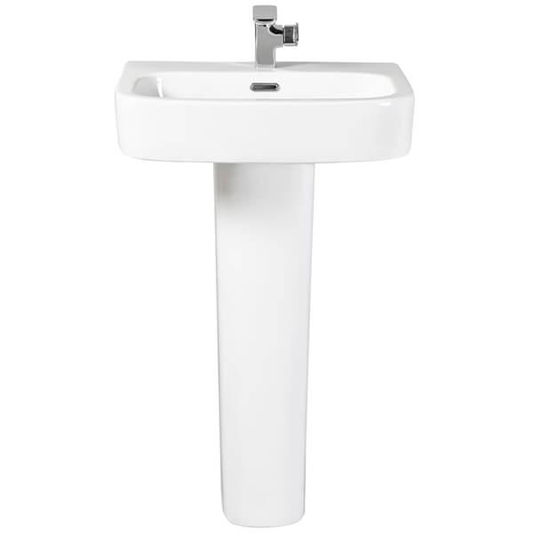 Frontline Modo 550mm Basin With Full Pedestal