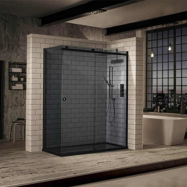 Frontline Aquaglass+ Sphere Tinted 8mm Sliding Door - More Dimension Available