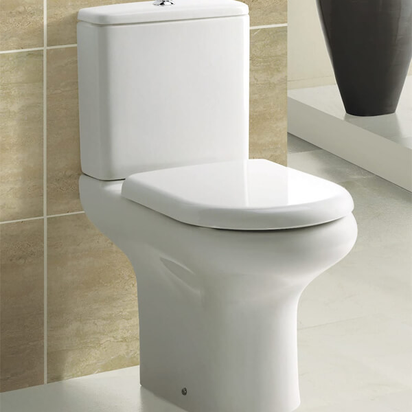 Frontline Compact WC With Standard Toilet Seat