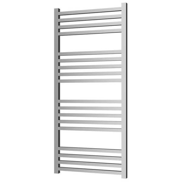 Radox Quebis 400mm x 1100mm Chrome Towel Rail