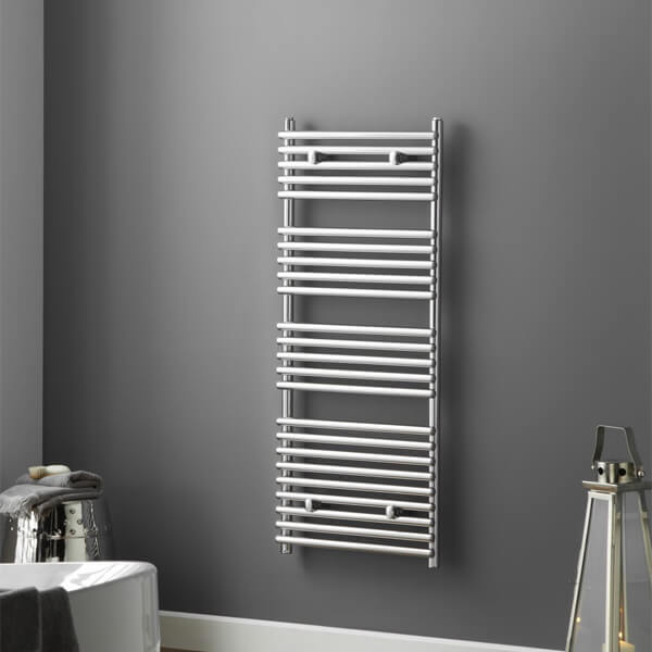 Towelrads Iridio 400 x 500mm White Towel Rail - More Width And Height Available