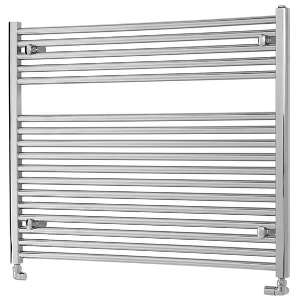 Towelrads Pisa 1000mm Wide Horizontal Towel Rail - More Heights Available